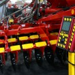 Control panel of agricultural harrow - Stock Photo