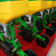 Agricultural equipment for fertilizer of earth - Stock Photo