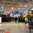 Stock Photo: Exhibition of agricultural machines