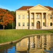 Stockfoto: Mansion at reservoir
