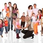 Family collage — Stock Photo #7448348