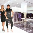 Foto Stock: Clothes boutique
