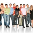 Standing group — Stock Photo #7448388
