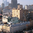 Stock Photo: View on Moscow with Foreign Ministry