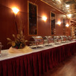 Buffet in hotel — Stock Photo