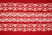 Ornament red jersey texture — Stock Photo