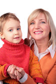 Middleaged woman with kid 4 — Stock Photo