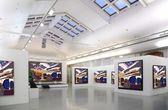 Galerie umění 2. všechny fotky jen filtrováno celé foto — Stock fotografie