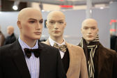 Three mannequins — Stock Photo