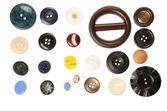 異なるサイズのボタン — ストック写真