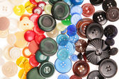 Many colored buttons — Stock Photo
