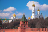 Kremlin churches — Stock Photo