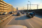 Urban traffic — Stock Photo