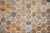 Hexagon pave — Stock Photo