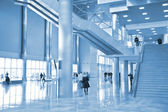 Hall of business center — Stock Photo