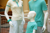 Família de manequins — Foto Stock