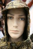 Głowa manekin w kaptur — Zdjęcie stockowe