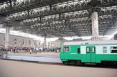 Kazan railway station in Moscow — Stock Photo