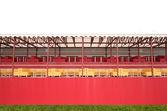 Tribunes stadium — Stockfoto