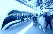 Sur la station de métro — Photo