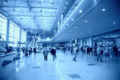 At airport — Stock Photo
