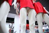 Legs female dummies in store — 图库照片