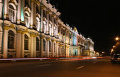 Night street in St. Peterburg — Stock Photo