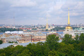 Visa av historiska stadskärnan i sankt petersburg — Stockfoto