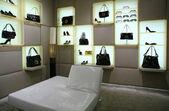 バッグ、靴、メガネ店で — ストック写真