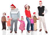 Vánoční rodina — Stock fotografie