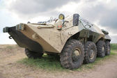 Armored infantry fighting vehicle — Stock Photo