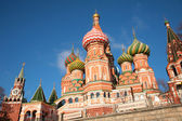 Cathedral of st. basil in moscow — Stock Photo