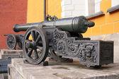 Gamla kanoner nära Vapensmedja. Kreml. Moskva. Ryssland — Stockfoto