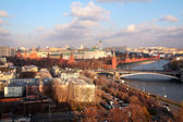 View on Moscow-river and Kremlin — Stok fotoğraf