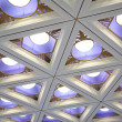 Ceiling with lamps — Stock Photo