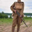 Soldier on WW1 — Stock Photo
