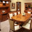 Stock Photo: Dinning room interior