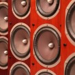 Stock Photo: Audio speakers