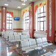Waiting hall — Stock Photo