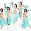 Stock Photo: Bellydance harem collage