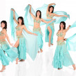 Bellydance harem collage — Stock Photo #7451431