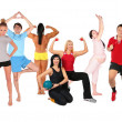 Sports group collage — Stock Photo #7451518