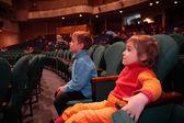 Children in theater — Stock Photo
