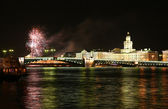 Firework in Saint Petersburg — Stock Photo