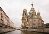Temple of Saviour on blood in Saint Petersburg — Stock Photo