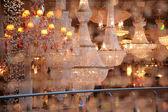 Lanterns in shop — Stock Photo