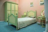 Camera da letto stile vecchio stile — Foto Stock