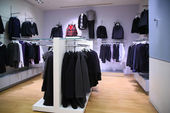 Clothing department — Stockfoto
