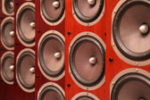Audio speakers — Stock Photo