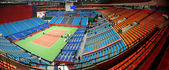 Panorama of stadium — Stock Photo